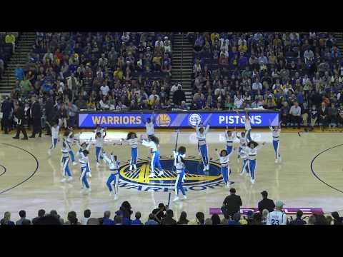 Warriors Jr Jam Squad 2017-2018 | Warriors vs Pistons | Hammer Mix