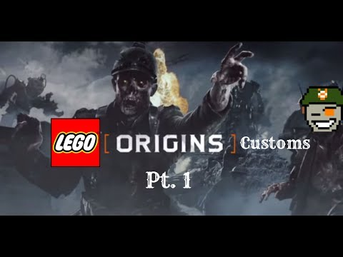 How to Build: Lego BO2 Origins Stuff (Pt. 1)