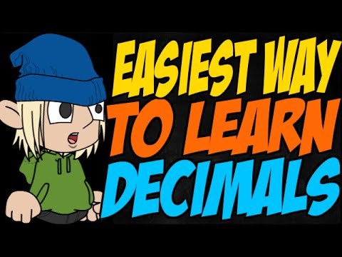 Easiest Way to Learn Decimals