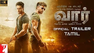 தமிழ்: War Trailer | Hrithik Roshan | Tiger Shroff | Vaani Kapoor | Tamil Version | 4K Video