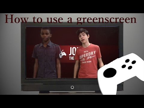 How to Easily use a green screen with imovie 2015/2016