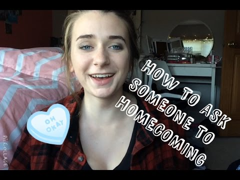 Ways to Ask Someone to Homecoming
