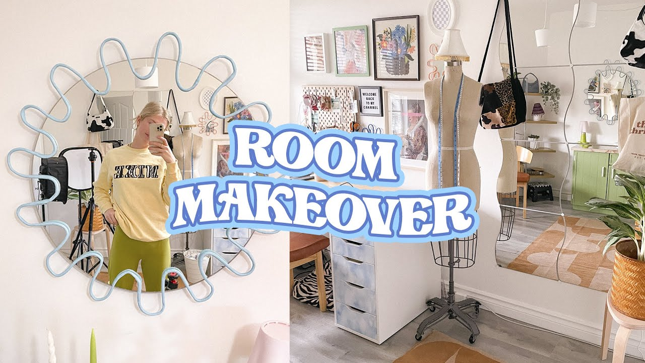 ROOM MAKEOVER 2021 but it's all thrifted **tiktok/aesthetic/pinterest inspired (budget friendly)