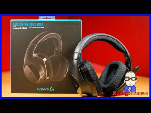 Logitech G533 Wireless 7.1 Gaming Headset (PC)   Unboxing, Set-Up, Mic Test & Review   MyKeyReviews