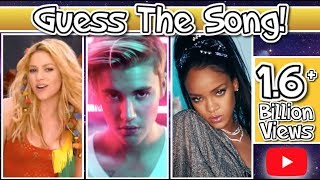2019 GUESS THE SONG CHALLENGE! - (1.6+ Billion YouTube Views Edition)