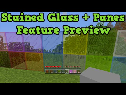 Minecraft Xbox One + PS4 TU25 - Stained Glass +