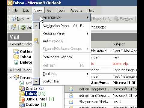 Microsoft Office Outlook 2003 Print a subset of your contacts