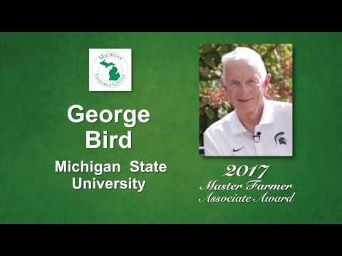 Dr. George Bird: Michigan Vegetable Council 2017 Master Farmer Associate Award