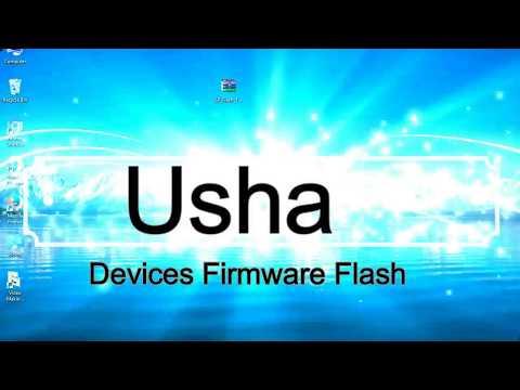 How to Flashing Usha firmware (Stock ROM) using Smartphone Flash Tool