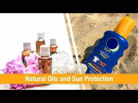 Natural Oils and Sun Protection