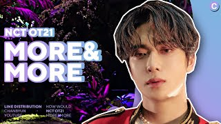 How would NCT OT21 sing MORE & MORE TWICE | Line Distribution
