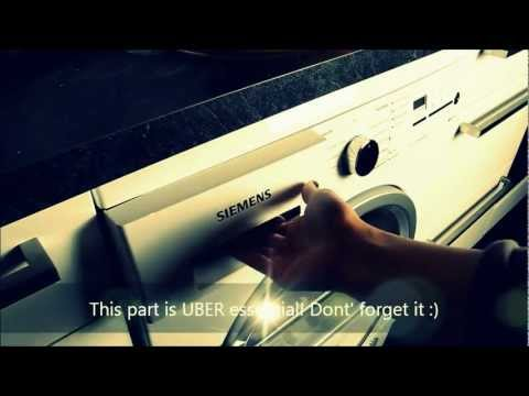 How to Use a German Washer and Dryer
