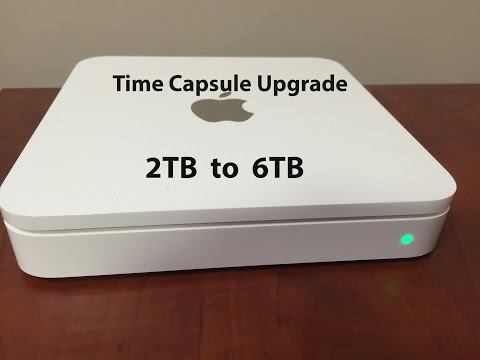 Apple Time Capsule Hard Drive replacement