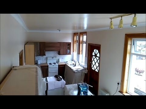 Quick way of painting kitchen walls