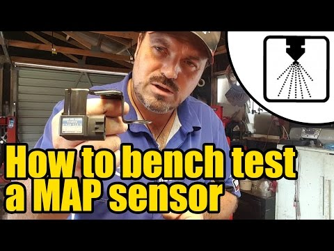 How to test a MAP sensor OFF CAR #1206