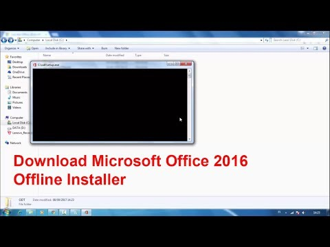 How to Download Microsoft Office 2016 Bussiness Offline Installer
