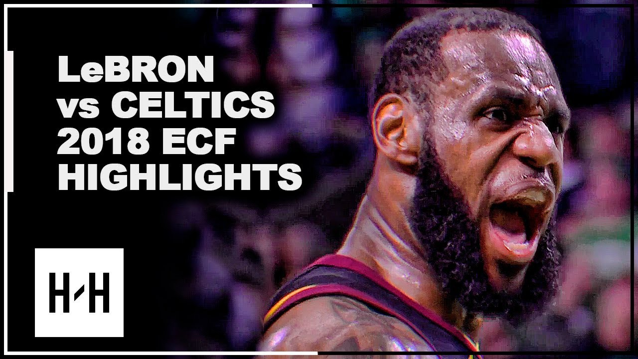LeBron James EPIC Full Series Highlights vs Celtics | 2018 Playoffs East Finals
