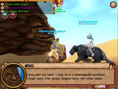 Myth School Level 38 Quest
