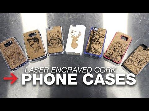 Laser Engraved Phone Case | Cork Phone Case | Speedy 400