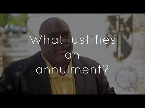33. What are the justifications for annulment?