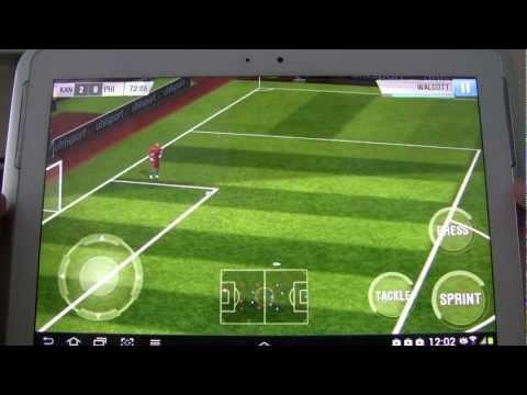 Real Football 2013 - Samsung Galaxy Note 10.1 - Android Gaming TV [1080p]