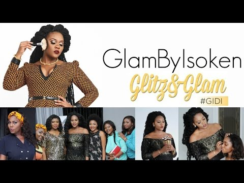 GLITZ N GLAM  #GIDI MASTER HANDS ON MAKEUP CLASS