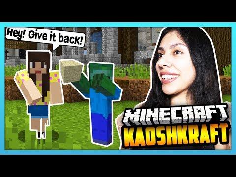 HE STOLE MY STUFF! - Minecraft Survival Lets Play: KaoshKraft SMP 3 - EP 94