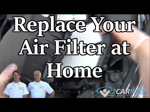 Air Filter Replacement Kia Forte 2009-2013
