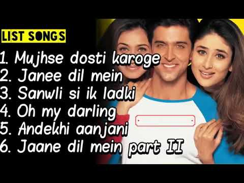 6 lagu india - Soundtrack Mujhse Dosti Karoge Film bollywood