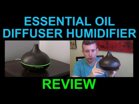 VicTsing Oil Diffuser Aromatherapy Humidifier for Essential Oils Ultrasonic Review