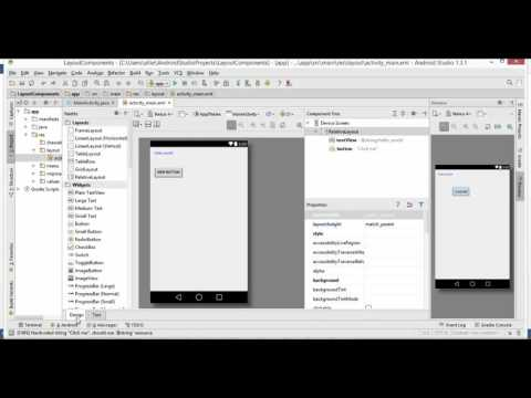 Android Java Programming - TextView and Buttons