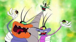 हिंदी Oggy and the Cockroaches - CAVIAR ON THE HOUSE! (S04E50) - Hindi Cartoons for Kids