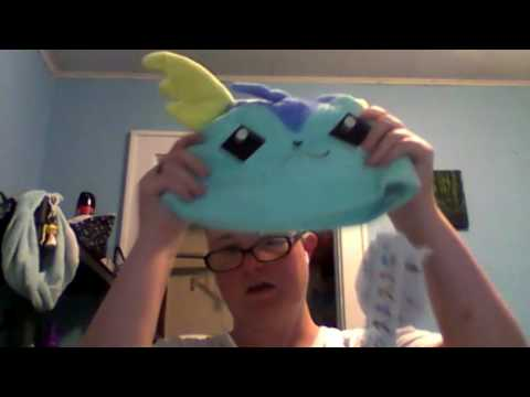 Nerd Swag: Vaporeon Plush cap and Reserved Cards for Pokemon Sun and Moon