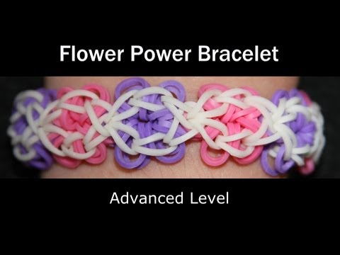 Rainbow Loom® Flower Power Bracelet