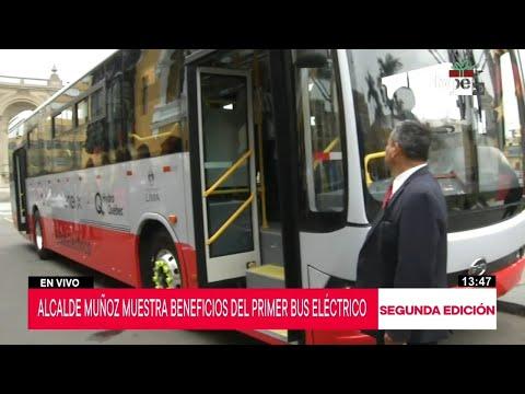 Xxx Mp4 Corredor Rojo Primer Bus Eléctrico Entra En Operaciones Este Fin De Semana 3gp Sex