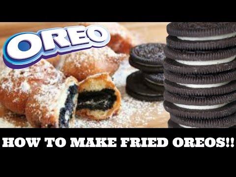 HOW TO MAKE DEEP FRIED OREOS! *VERY EASY*
