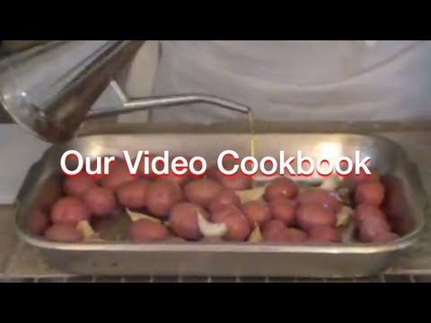 How to make Roasted Rosemary Garlic Red Potatoes Recipe | Our Video Cookbook #44