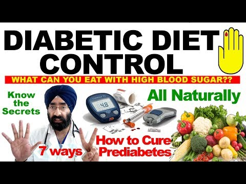 7 Secrets of DIABETIC DIET | Cure Prediabetes Naturally | What to eat to control sugar |Dr.EDUCATION