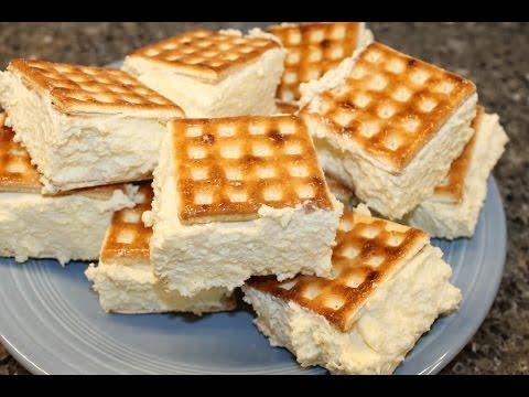 Making Vanilla Slice – Australian Dessert Recipe