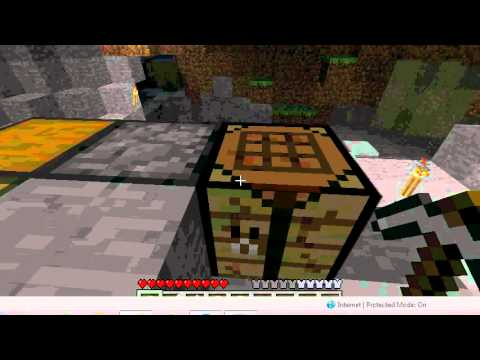 Minecraft How to make a stone sword, pickaxe, and an axe