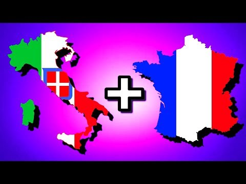 Italy + France = Italian-Franco Union!   Hearts of Iron 4 [HOI4]
