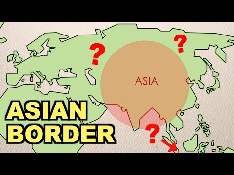 Where Are The Asian Borders? (part 1)