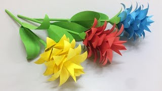 How to make tissue flower making paper flowers step by step diy how to make beautiful flower with paper making paper flowers step by step diy paper flowers mightylinksfo