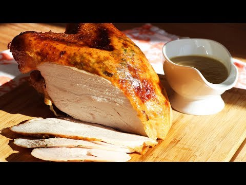 JUICY Chinese Roasted Turkey Breast | Happy Thanksgiving | CiCi Li