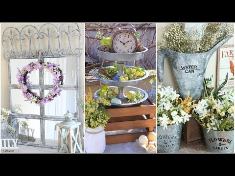 DOLLAR TREE FARMHOUSE DECOR SPRING 2018