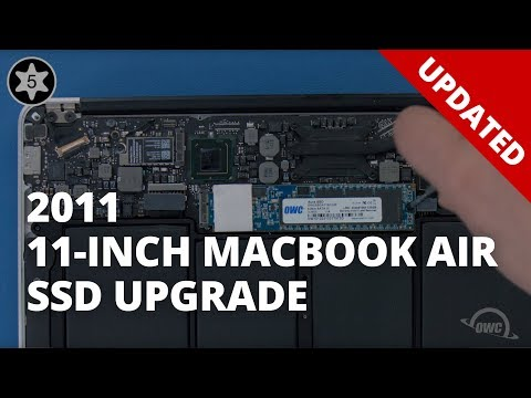 How to Install a SSD in a 11-inch MacBook Air 2011 - UPDATED