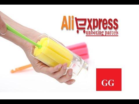 Kitchen Cleaning Tool Sponge Brush For Wineglass Bottle Coffe Tea Glass