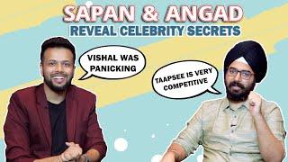 Sapan Verma And Angad Ranyal Reveal Some Fun Celebrity Secrets About Taapsee, Vishal, Richa & More
