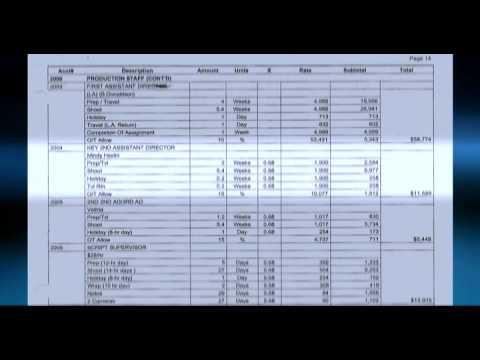 The Budget - Tom Kane's Film Production Workshop