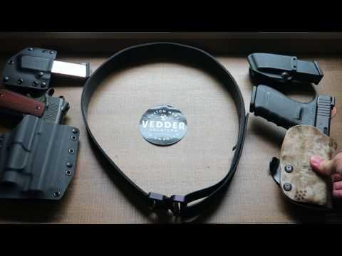 Vedder Cobra Quick Release Gun Belt